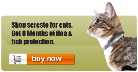 Seresto flea and tick collar for cats